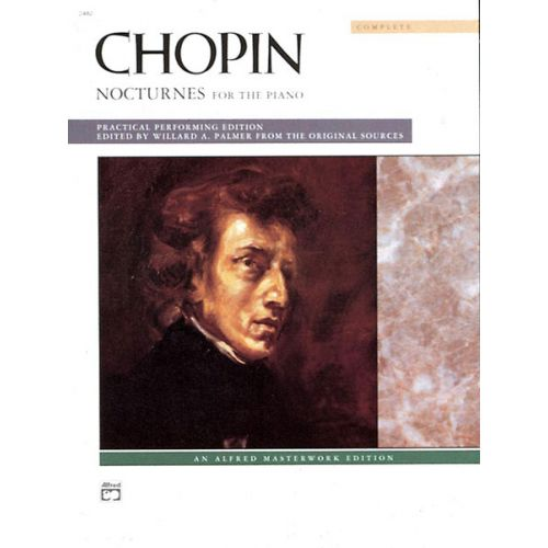 ALFRED PUBLISHING CHOPIN FREDERIC - NOCTURNES COMPLETE - PIANO SOLO