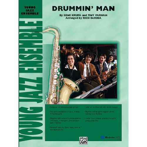 ALFRED PUBLISHING KRUPA GENE - DRUMMIN' MAN - JAZZ BAND