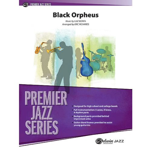 ALFRED PUBLISHING BONFA LUIZ - BLACK ORPHEUS - JAZZ BAND