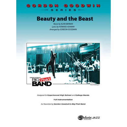 ALFRED PUBLISHING MENKEN ALAN AND AHSMAN H. - BEAUTY AND THE BEAST - JAZZ BAND
