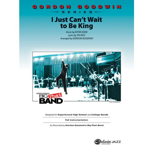 ALFRED PUBLISHING JOHN AND RICE - I JUST CANT WAIT TO BE KING - JAZZ BAND