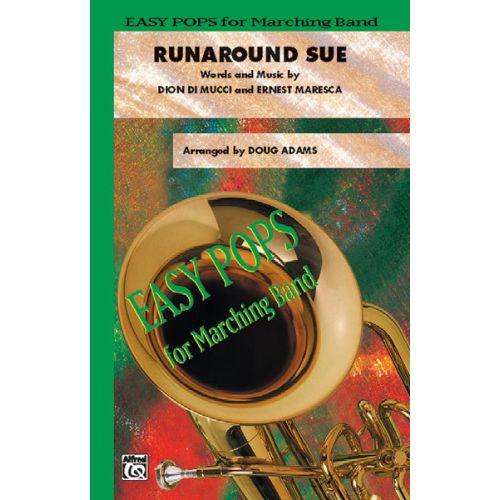 ALFRED PUBLISHING ADAMS DOUG - RUNAROUND SUE - SCORE AND PARTS