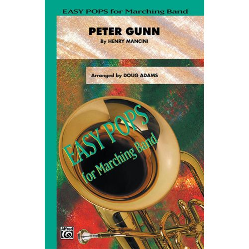 ALFRED PUBLISHING MANCINI HENRY - PETER GUNN - SCORE AND PARTS