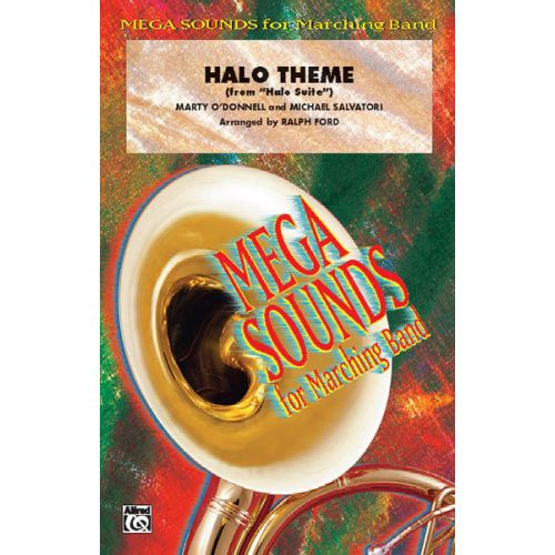 ALFRED PUBLISHING FORD RALPH - HALO THEME - SCORE AND PARTS