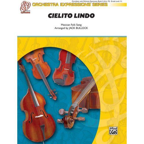 ALFRED PUBLISHING BULLOCK JACK - CIELITO LINDO - STRING ORCHESTRA