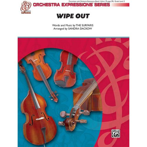 ALFRED PUBLISHING DACKOW SANDRA - WIPE OUT - STRING ORCHESTRA