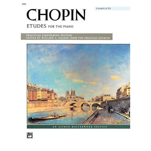 ALFRED PUBLISHING CHOPIN FREDERIC - ETUDES FOR PIANO COMPLETE - PIANO SOLO