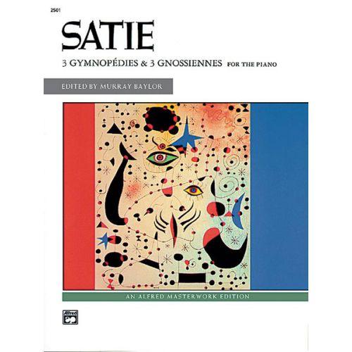 ALFRED PUBLISHING SATIE ERIK - GYMNOPEDIES AND GNOSSIENNES - PIANO