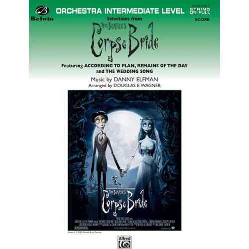 ALFRED PUBLISHING ELFMAN DANNY - CORPSE BRIDE, SELECTIONS - FLEXIBLE ORCHESTRA