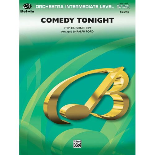 ALFRED PUBLISHING SONDHEIM STEPHEN - COMEDY TONIGHT - FLEXIBLE ORCHESTRA