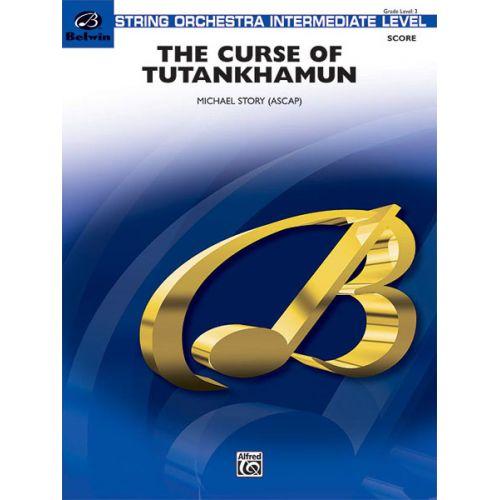 ALFRED PUBLISHING STORY MICHAEL - CURSE OF TUTANKHAMUN - STRING ORCHESTRA