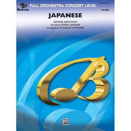 ALFRED PUBLISHING GERSHWIN GEORGE - JAPANESE - FULL ORCHESTRA