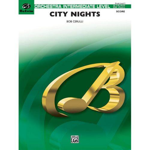 ALFRED PUBLISHING CERULLI BOB - CITY NIGHTS - FLEXIBLE ORCHESTRA