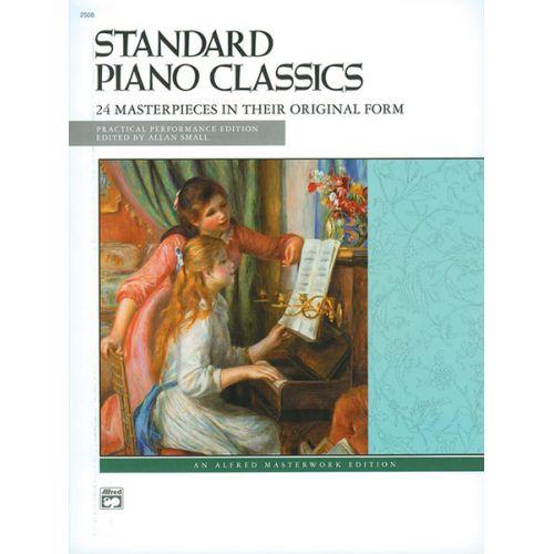 ALFRED PUBLISHING SMALL ALAN - STANDARD PIANO CLASSICS - PIANO