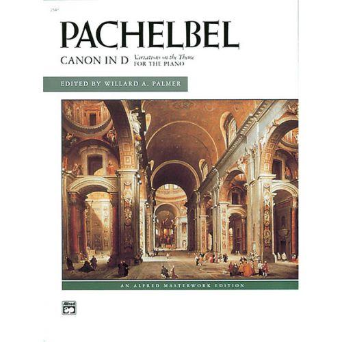 ALFRED PUBLISHING PACHELBEL JOHANN - CANON IN D - PIANO SOLO