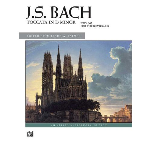 ALFRED PUBLISHING BACH JOHANN SEBASTIAN - TOCCATA IN D MINOR - PIANO SOLO