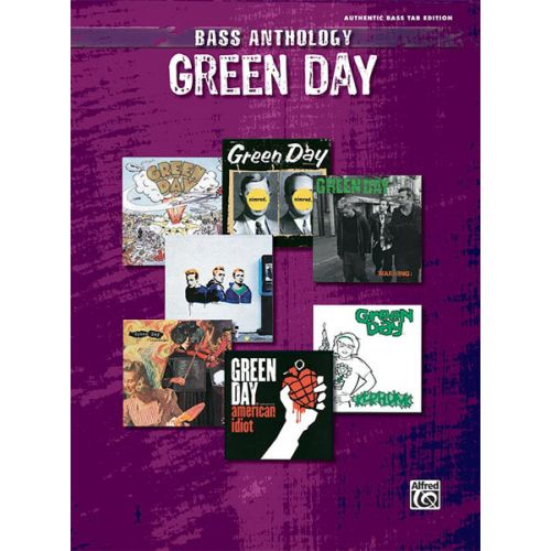 ALFRED PUBLISHING GREEN DAY - GREEN DAY BASS ANTHOLOGY - BASS GUITAR TAB