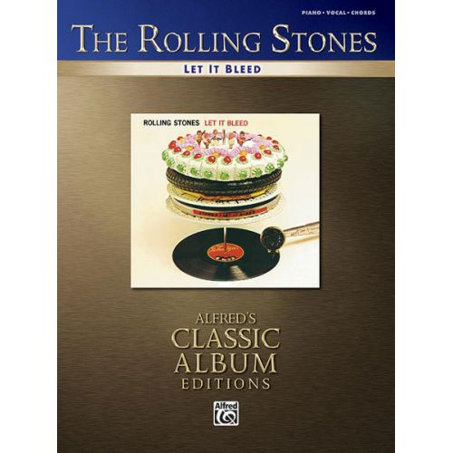 ALFRED PUBLISHING ROLLING STONES THE - LET IT BLEED - PVG
