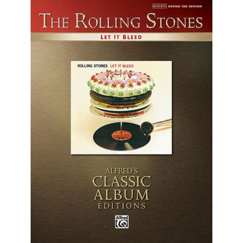 ALFRED PUBLISHING ROLLING STONES THE - LET IT BLEED - GUITAR TAB
