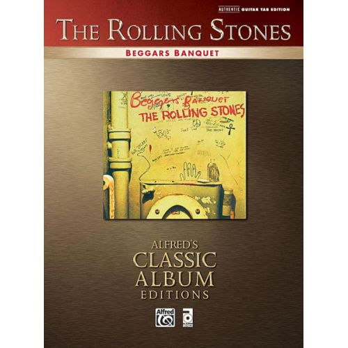 ALFRED PUBLISHING ROLLING STONES THE - BEGGARS BANQUET - GUITAR TAB