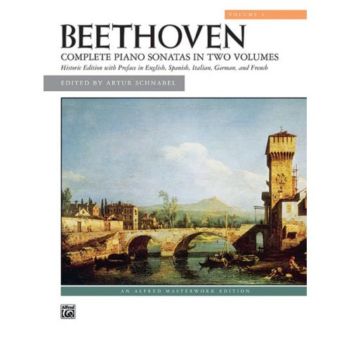 ALFRED PUBLISHING BEETHOVEN LUDWIG VAN - COMPLETE PIANO SONATAS VOLUME 1 OF 2 - PIANO SOLO