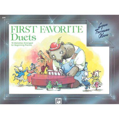 ALFRED PUBLISHING OLSON LYNN FREEMAN - FIRST FAVOURITE DUETS - PIANO DUET