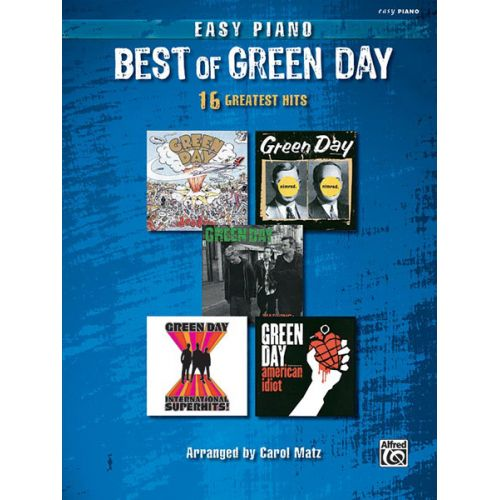 ALFRED PUBLISHING GREEN DAY - BEST OF - PIANO SOLO
