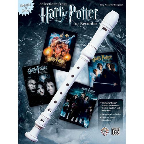 ALFRED PUBLISHING JOHN WILLIAMS - SELECTIONS FROM HARRY POTTER FOR RECORDER - FLUTE A BEC