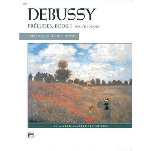 ALFRED PUBLISHING DEBUSSY CLAUDE - PRELUDES BOOK 1 - PIANO