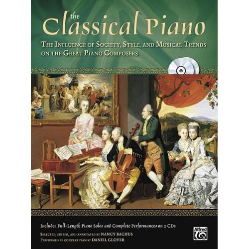 ALFRED PUBLISHING THE CLASSICAL PIANO + 2CD - PIANO SOLO