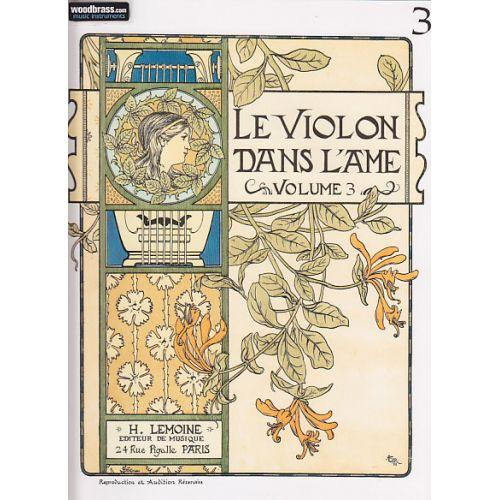 LEMOINE GARLEJ BRUNO - VIOLON DANS L'ÂME VOL.3