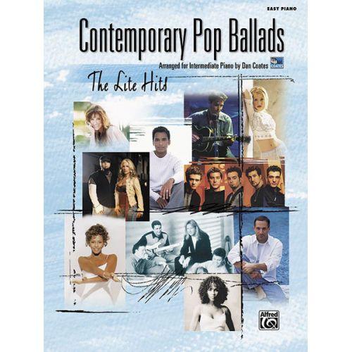ALFRED PUBLISHING COATES DAN - CONTEMPORARY POP BALLADS EASY PIANO - PIANO SOLO