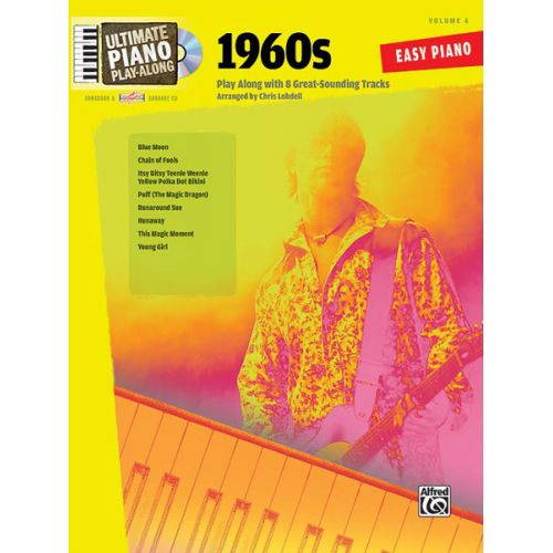 ALFRED PUBLISHING LOBDELL CHRIS - ULTIMATE PIANO PLAYALONG : 1960S - PIANO SOLO