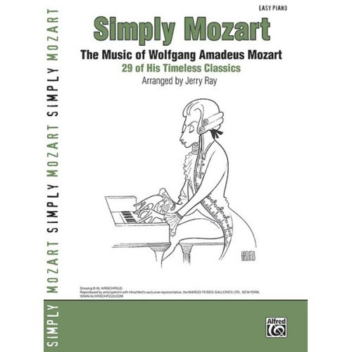 ALFRED PUBLISHING MOZART WOLFGANG AMADEUS - SIMPLY MOZART EASY PIANO - PIANO SOLO