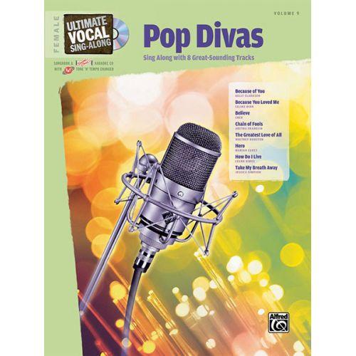 ALFRED PUBLISHING POP DIVAS + CD - VOICE