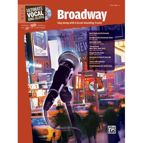 ALFRED PUBLISHING BROADWAY + CD - VOICE