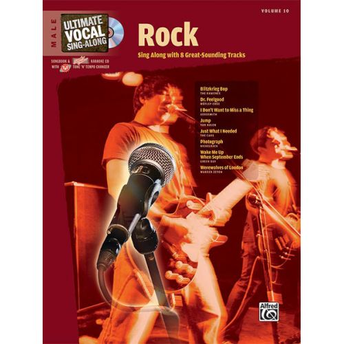 ALFRED PUBLISHING ROCK + CD - VOICE