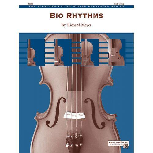 ALFRED PUBLISHING MEYER RICHARD - BIO RHYTHMS - STRING ORCHESTRA