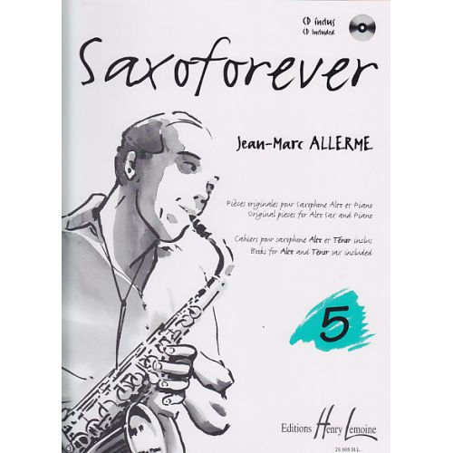 LEMOINE ALLERME JEAN-MARC - SAXOFOREVER VOL.5 + CD