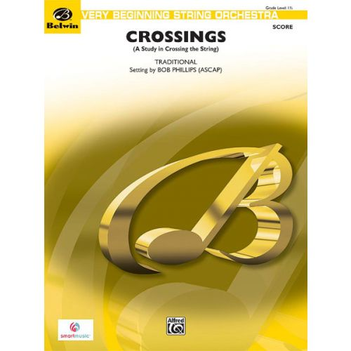 ALFRED PUBLISHING PHILLIPPE ROY - CROSSINGS - STRING ORCHESTRA