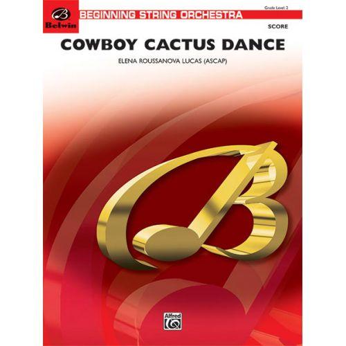 ALFRED PUBLISHING ROUSSANOVA LUCA ELENA - COWBOY CACTUS DANCE - STRING ORCHESTRA