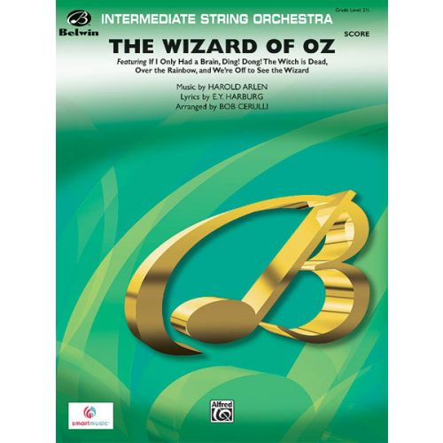 ALFRED PUBLISHING ARLEN HAROLD - WIZARD OF OZ - STRING ORCHESTRA