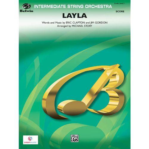 ALFRED PUBLISHING CLAPTON ERIC - LAYLA - STRING ORCHESTRA