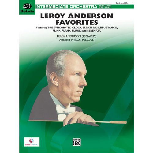 ALFRED PUBLISHING ANDERSON LEROY - LEROY ANDERSON FAVORITES - FLEXIBLE ORCHESTRA