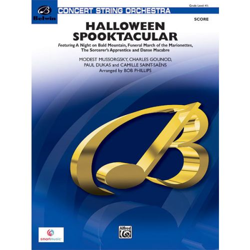 ALFRED PUBLISHING PHILLIPPE ROY - HALLOWEEN SPOOKTACULAR - STRING ORCHESTRA