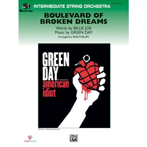 ALFRED PUBLISHING PHILLIPPE ROY - BOULEVARD OF BROKEN DREAMS - STRING ORCHESTRA