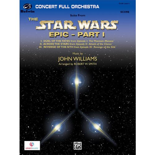 ALFRED PUBLISHING WILLIAMS JOHN - STAR WARS EPIC : PART I - FULL ORCHESTRA