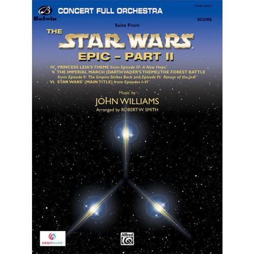 ALFRED PUBLISHING WILLIAMS JOHN - STAR WARS EPIC: PART II - FULL ORCHESTRA