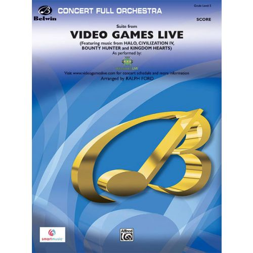 ALFRED PUBLISHING FORD RALPH - VIDEO GAMES LIVE, SUITE - FULL ORCHESTRA