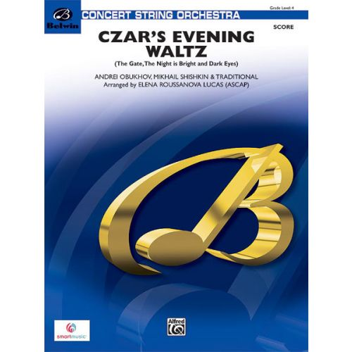 ALFRED PUBLISHING ROUSSANOVA LUCA ELENA - CZAR'S EVENING WALTZ - STRING ORCHESTRA